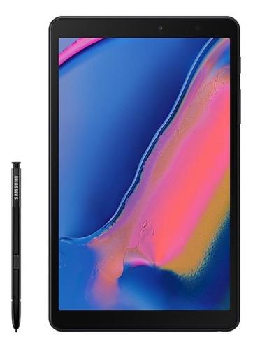 """Tablet  Samsung Galaxy Tab A 2019 SM-P200 8"""" 32GB preto com 3GB de memória RAM"""