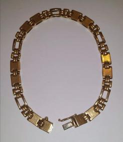 A Vista 2562 Pulseira Ouro 18k Articulada 20,5g Corrente Pwt