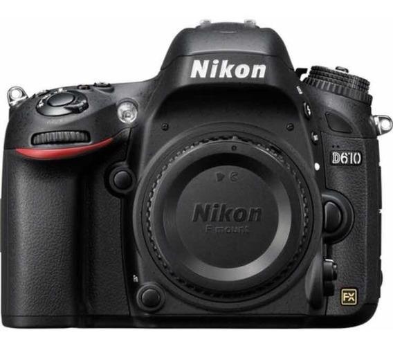 Nikon D610 Full Frame Corpo + Bateria+carregador Originais