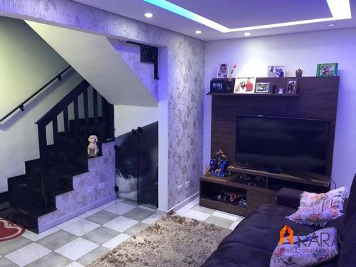 Imagem 1 de 28 de Casa À Venda, 108 M² Por R$ 499.000,00 - Demarchi - São Bernardo Do Campo/sp - Ca0051