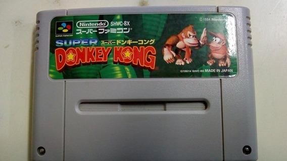 Fita Donkey Kong Country 1 Jogo Original Famicom Salvando