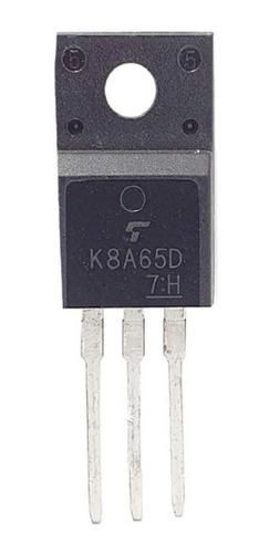 Imagen 1 de 3 de Par Comp Pf6003ag 6003ag + K8a65d Transistor Tk8a65d X2 Uni