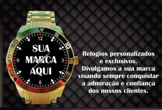 Relógio De Pulso Personalizado Sua Empresa Seu Logo Foto 7