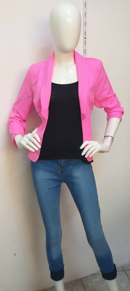 Saco Para Dama Color Rosa Chicle 01