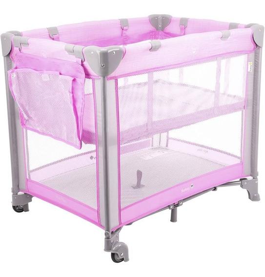 Berço Portátil Desmontável Mini Play Safety 1st - Rosa