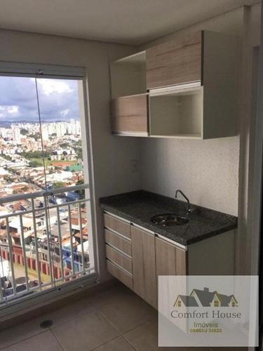 Apartamento Para Venda Em Santo André, Santa Maria / Campestre, 3 Dormitórios, 1 Suíte, 2 Banheiros, 2 Vagas - 00522_1-1787951
