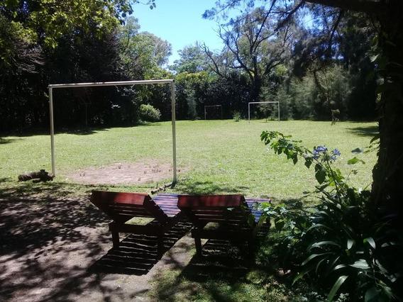Casa Quinta Pileta Cancha D Futbol Salón/quincho E Inflable