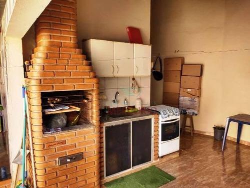 Casa Com 3 Dormitórios À Venda, 133 M² Por R$ 300.000,00 - Vila Industrial - Bauru/sp - Ca3304