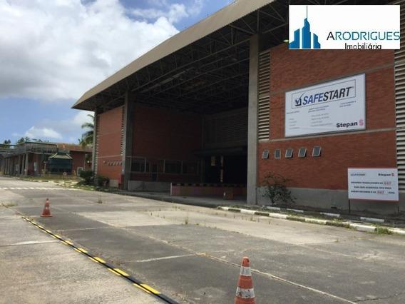 Galpão E Terreno À Venda Em Valéria, Nova Brasilia De Valéria, Simões Filho. - Gl00023