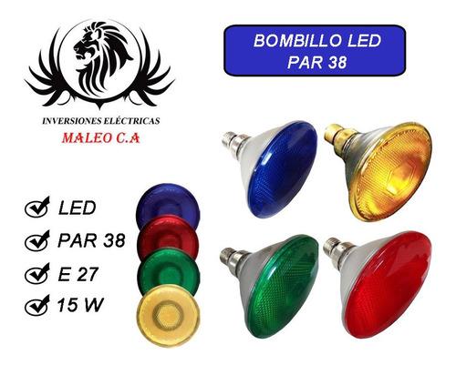 Bombillo Par 38 Led Color 13,5w E27 Philips