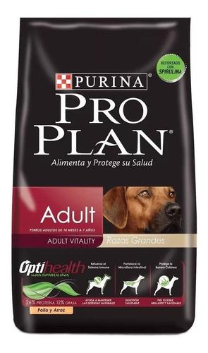 Imagen 1 de 1 de Alimento Pro Plan OptiHealth Adult para perro adulto de raza grande sabor pollo/arroz en bolsa de 13kg