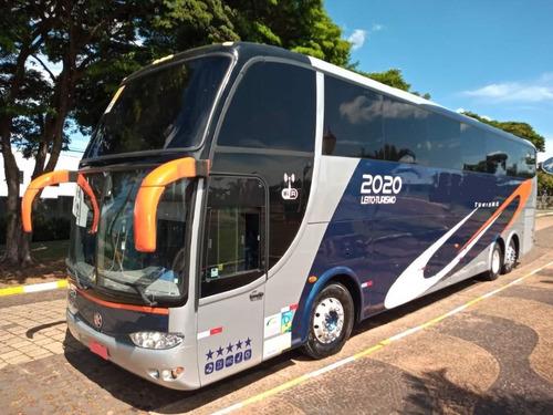 Ônibus Marcopolo 1550 Ld G6 Volvo B12r 380 Seminovo Turismo