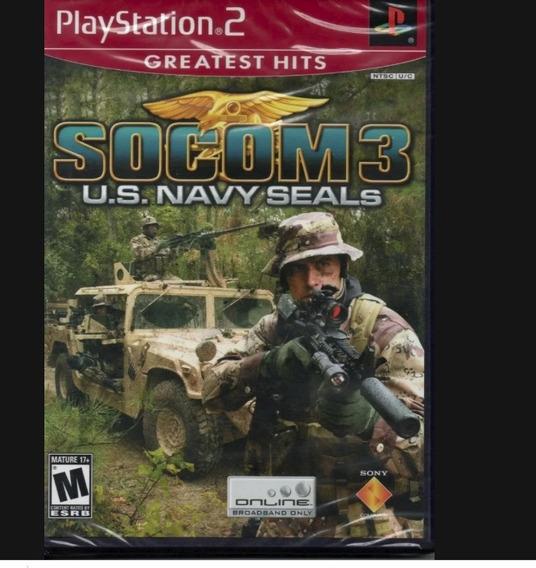 Jogo Para Ps2 Socom 3 U.s. Navy Seals