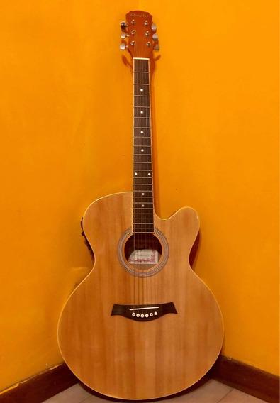 Guitarra Memphis Electroacustica Sin Uso