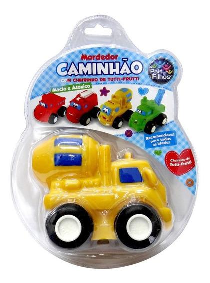 Mordedor Bebê Caminhão Super Macio Atóxico Carro Profissões