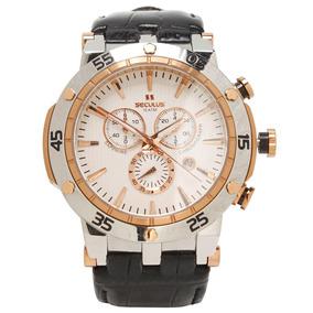 Relógio Masculino Analógico Seculus 20013gpsggc3 - Preto