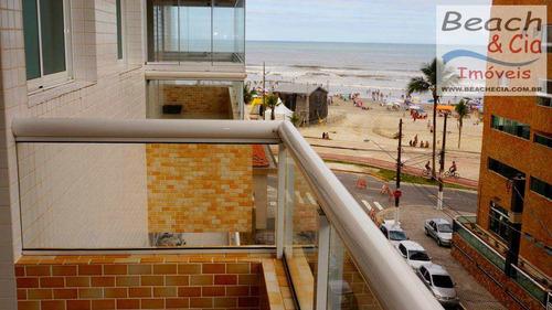 Vista Mar, 3 Dorms, Ocian, Praia Grande - R$ 421 Mil, Ap00011 - Vap00011
