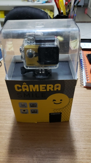 Camera Smile Imaginarium 4k Usada Na Caixa ( Similar Gopro )