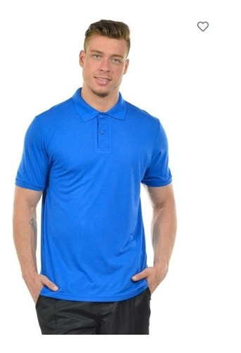 Imagem 1 de 6 de Kit 10 Camisas Polo Masculina Malha Fria 27257 Poliéster