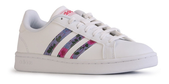 Zapatillas adidas Casual Grand Court Blanco Multicolor Mujer