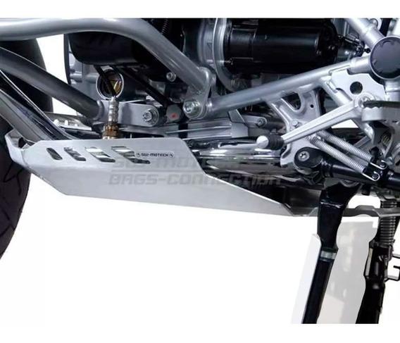 Cubrecarter Aluminio Bmw R 1200 Gs 2004 A 2012 - Sw Motech