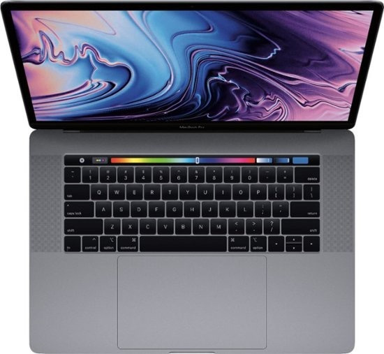 Macbook Pro 15 Touchbar Space Gray I7 2.7 16gb 1tb Ssd Top