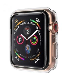 Capinha Case Relógio Apple Watch 40mm E 44mm Capa Bumper 360