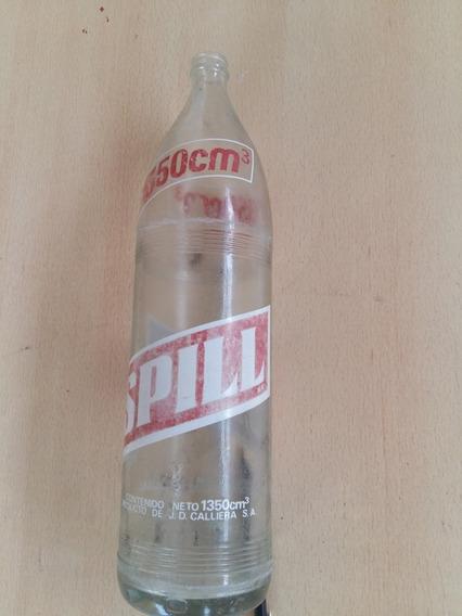 Antigua Botella De Gaseosa Spill De 1350cc.