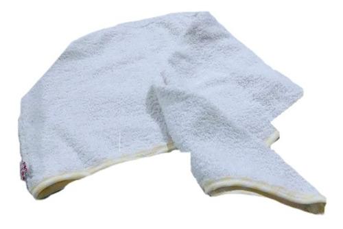 Cofia Turbante De Baño 100% Algodón