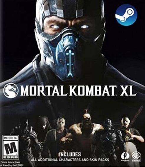 Mortal Kombat Xl Pc - Steam - Envio Imediato