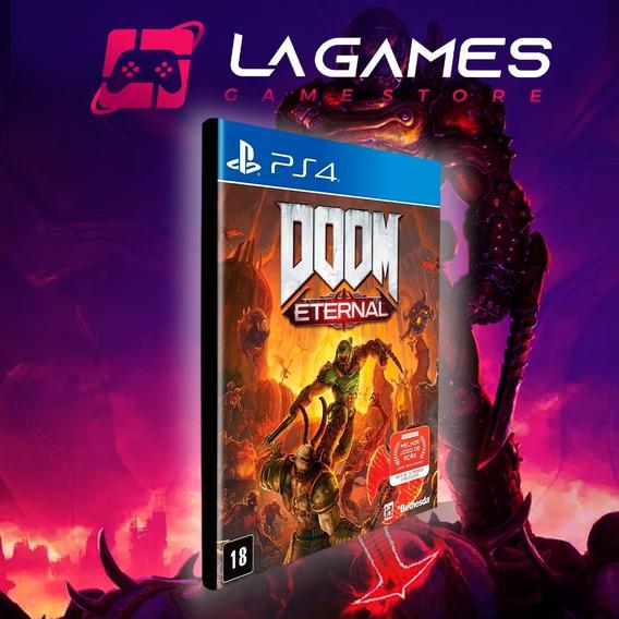 Doom Eternal Português - Ps4 1 - Original - Vitalício