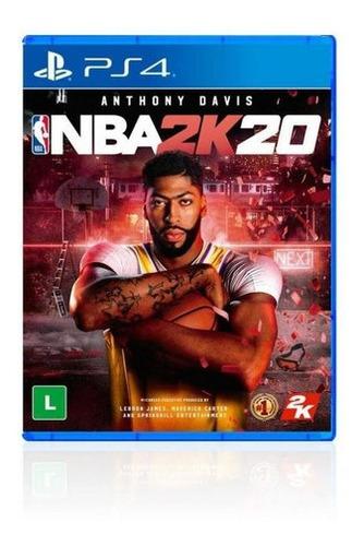 Jogo Game Nba 2k20 Ps4 - Sony