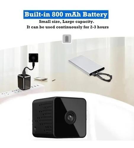 Imagem 1 de 7 de Mini Câmera Full Hd 1080p Ir Dvr Inteligente Sem Fio Ip Wifi