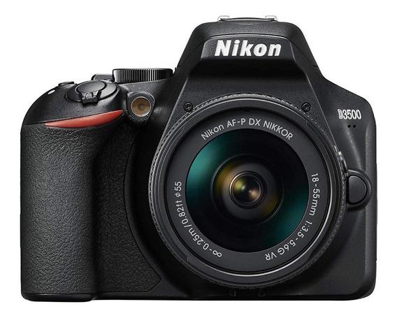 Camara Nikon Reflex D3500 Kit 18-55mm Gtia Nueva Original