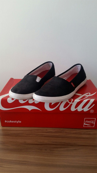 Tênis Preto Coca Cola
