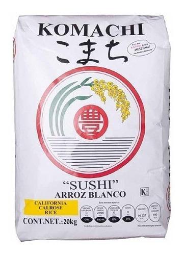 Imagen 1 de 1 de Arroz Para Sushi Calrose, Komachi, Toyo Foods, 20kg