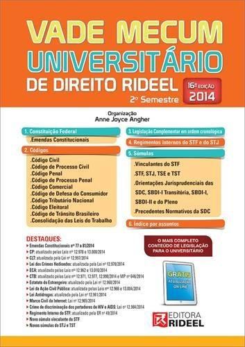 Vade Mecum Universitario De Direito Rideel Espiral