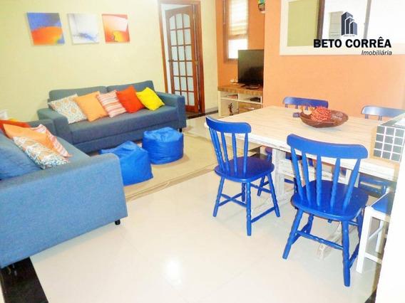 Guarujá, Enseada Excelente Apartamento, 3 Dorms, Churrasqueira E Piscina. - Ap0284