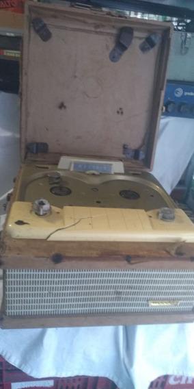 Antigo Gravador De Rolo Webcor Restauração Peças