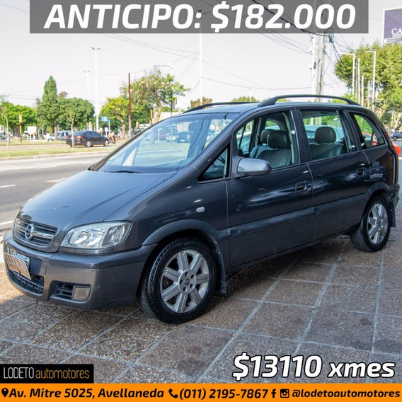 Chevrolet Zafira 2.0 Gls 7as 2006 Anticipo/financio/permuta