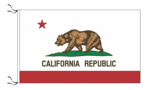 Bandera De California 90 X 60 Cm Y Hacemos Todos Los Estados
