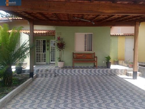 Casa Térrea Em Condomínio Fechado/vargem Grande  Paulista - Gv20934