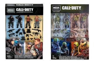 Call Of Duty 2 Pack 4 Soldados Mega Construx Oferta Unica