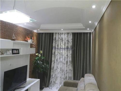 Apartamento Com 2 Dormitórios À Venda, 50 M² Por R$ 315.000,00 - Vila Basileia - São Paulo/sp - Ap0094