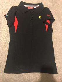 Camiseta Puma Suderia Ferrari Meninas