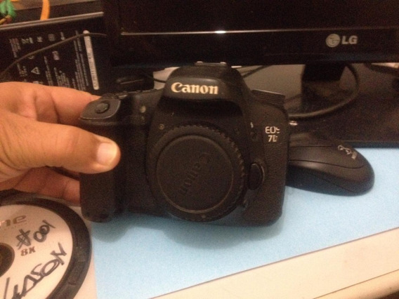 Canon 7d Para Retirada De Peças