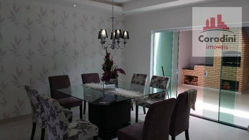 Imagem 1 de 19 de Casa Residencial À Venda, Jardim Santa Rita Ii, Nova Odessa. - Ca1038