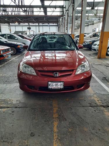 Imagen 1 de 10 de Honda Civic 2005 Ex Sedan At