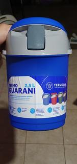 Termo Termolar Original 2,5 L. Terere Modelo Guarani Bidón.