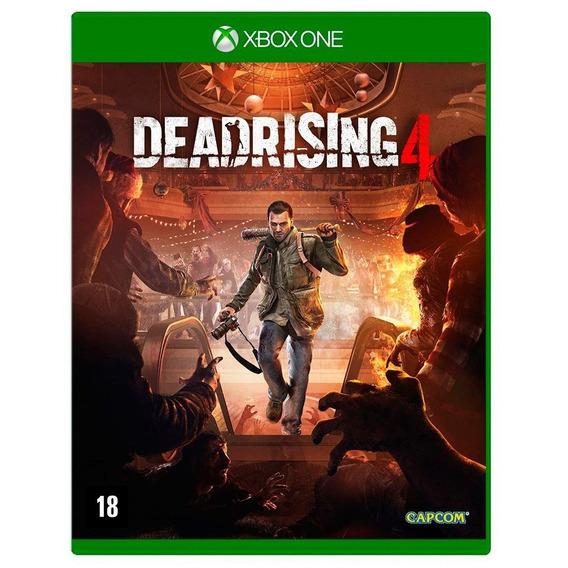 Dead Rising 4 Xbox One Mídia Física Novo Lacrado